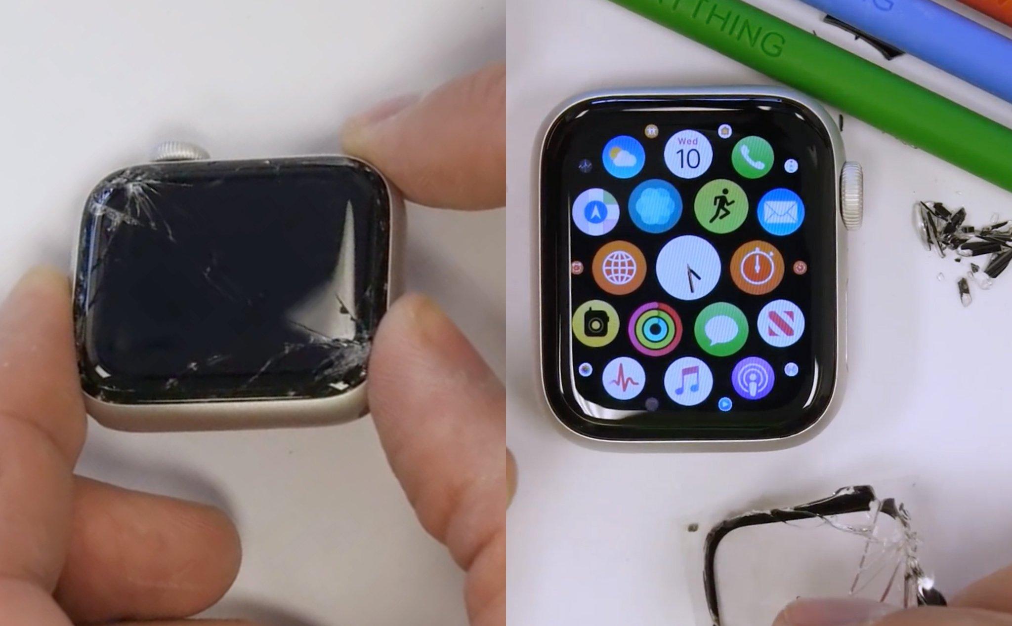 Thay Ép Mặt Kính Apple Watch Đà Nẵng